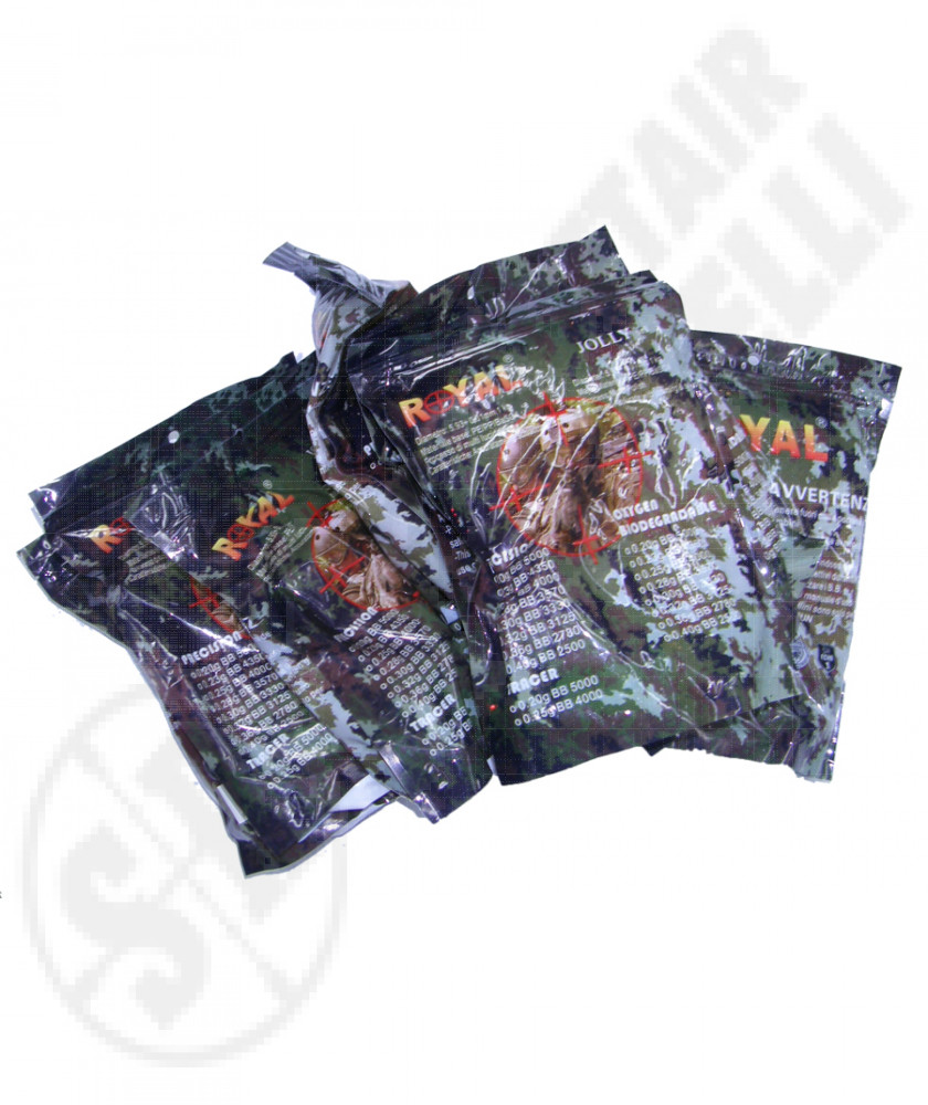 10 packs of airsoft ceramic bbs 0.25g