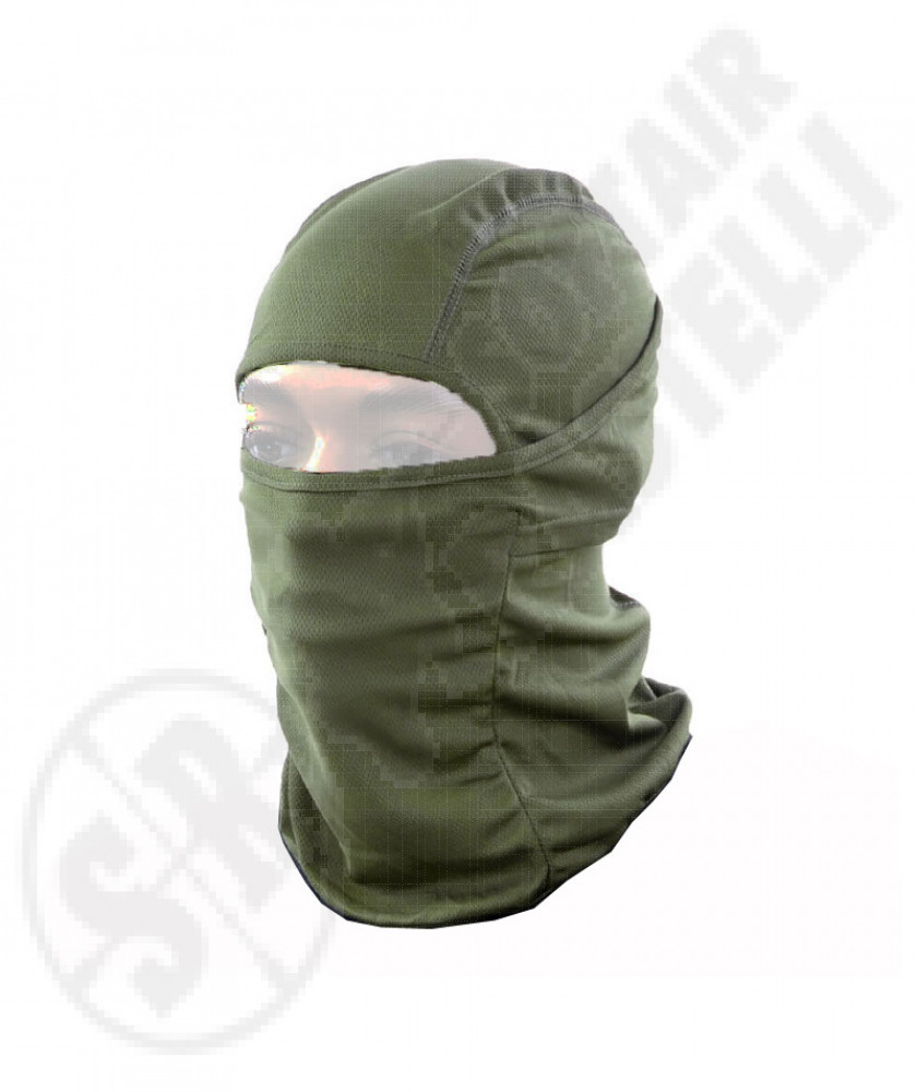 Tactical Balaclava  Multi Hood Green