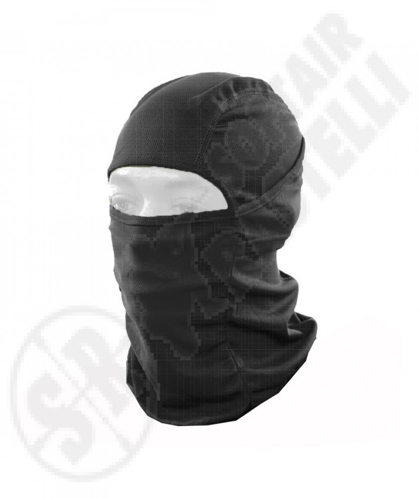 Tactical Balaclava  Multi Hood Black