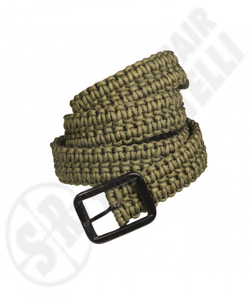 Belt In Paracord green