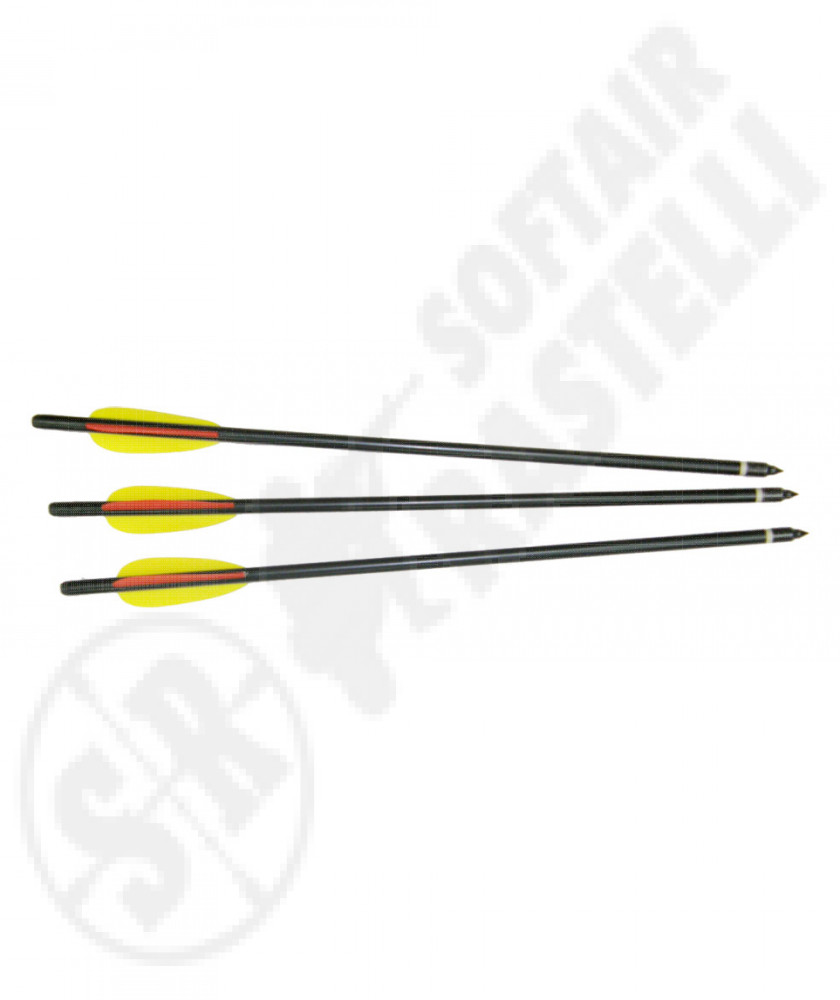 3 arrows for crossbow 18""