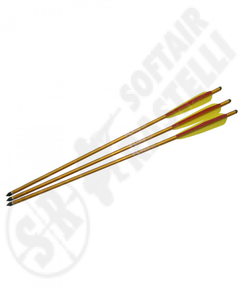 """3 arrows for crossbow from 22""""golden"""