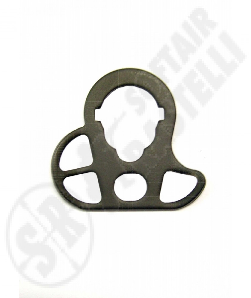 Three-point m4/m16 sling plate