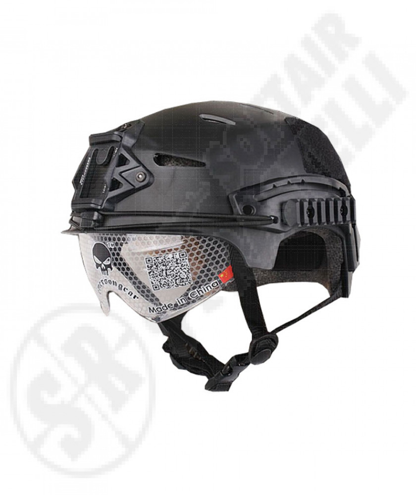 Exp bump helmet black