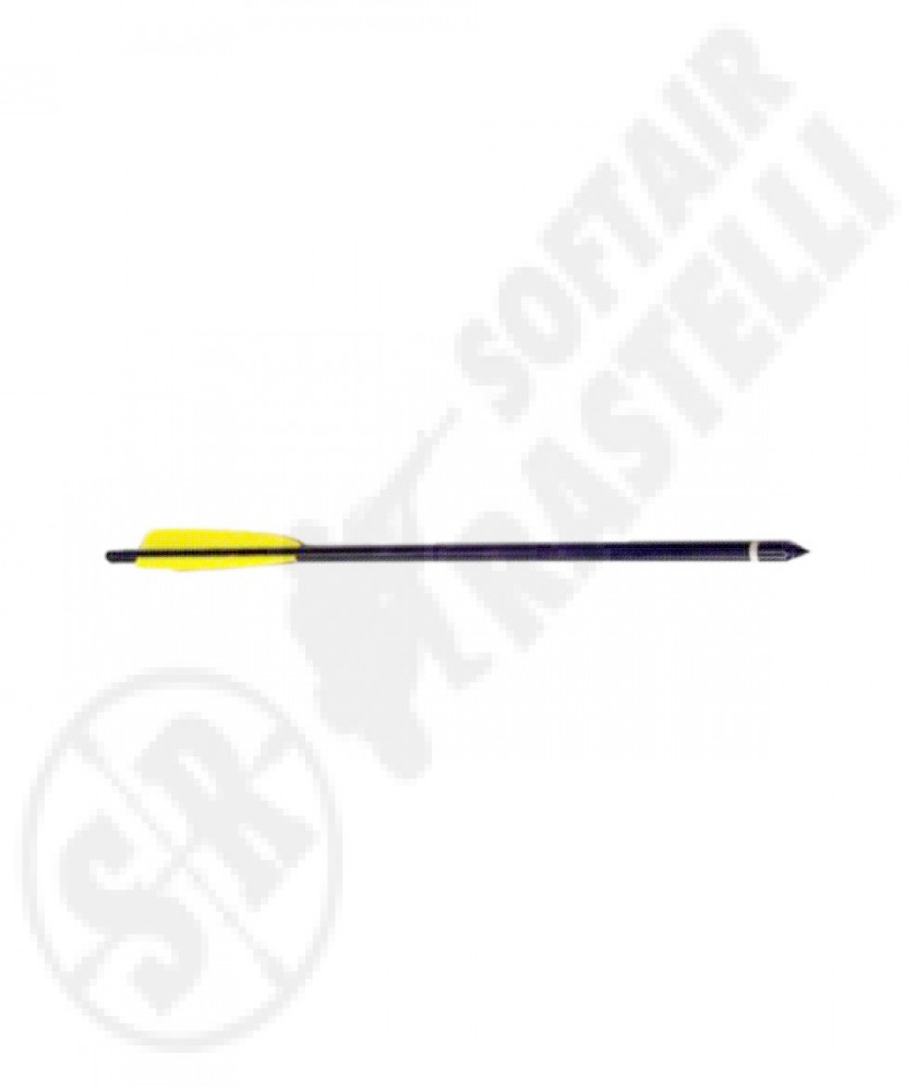 "Arrow for crossbow from 18"" black"