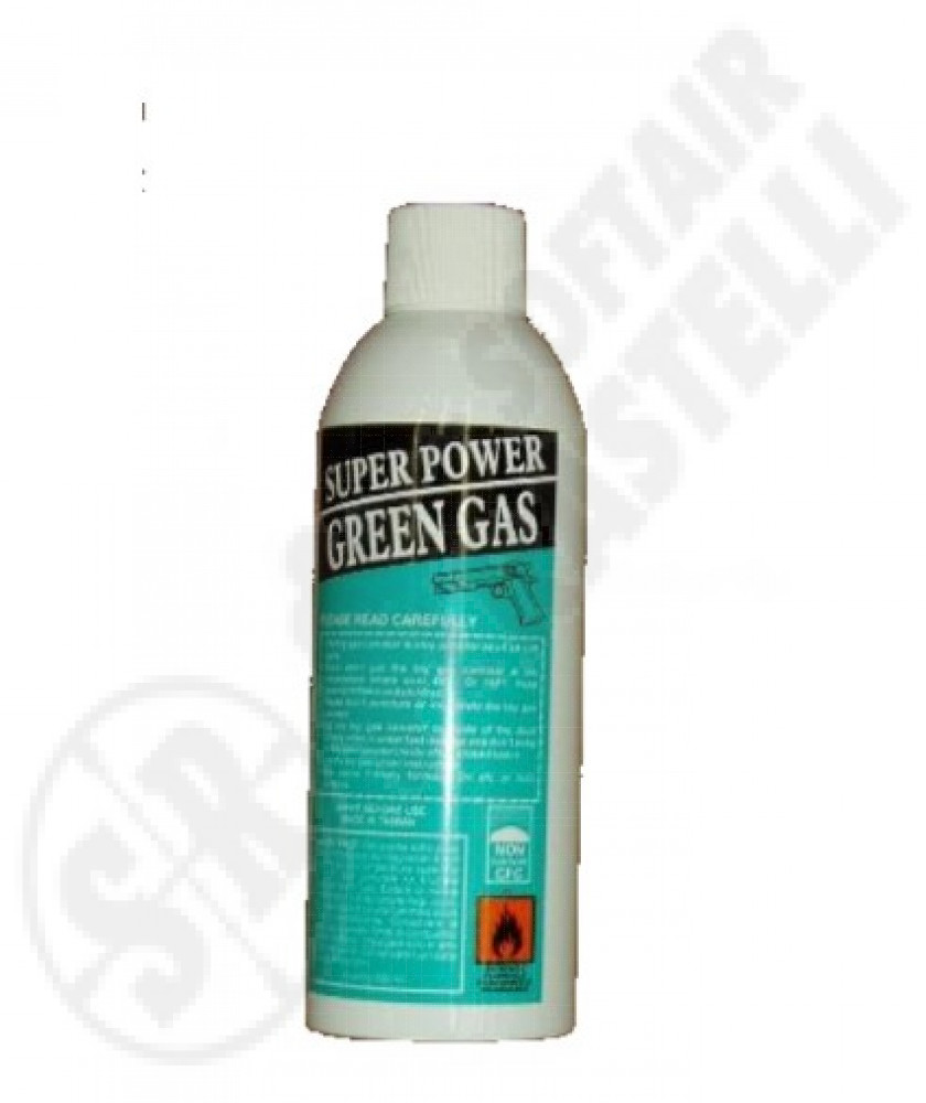 Green gas 600ml   super power