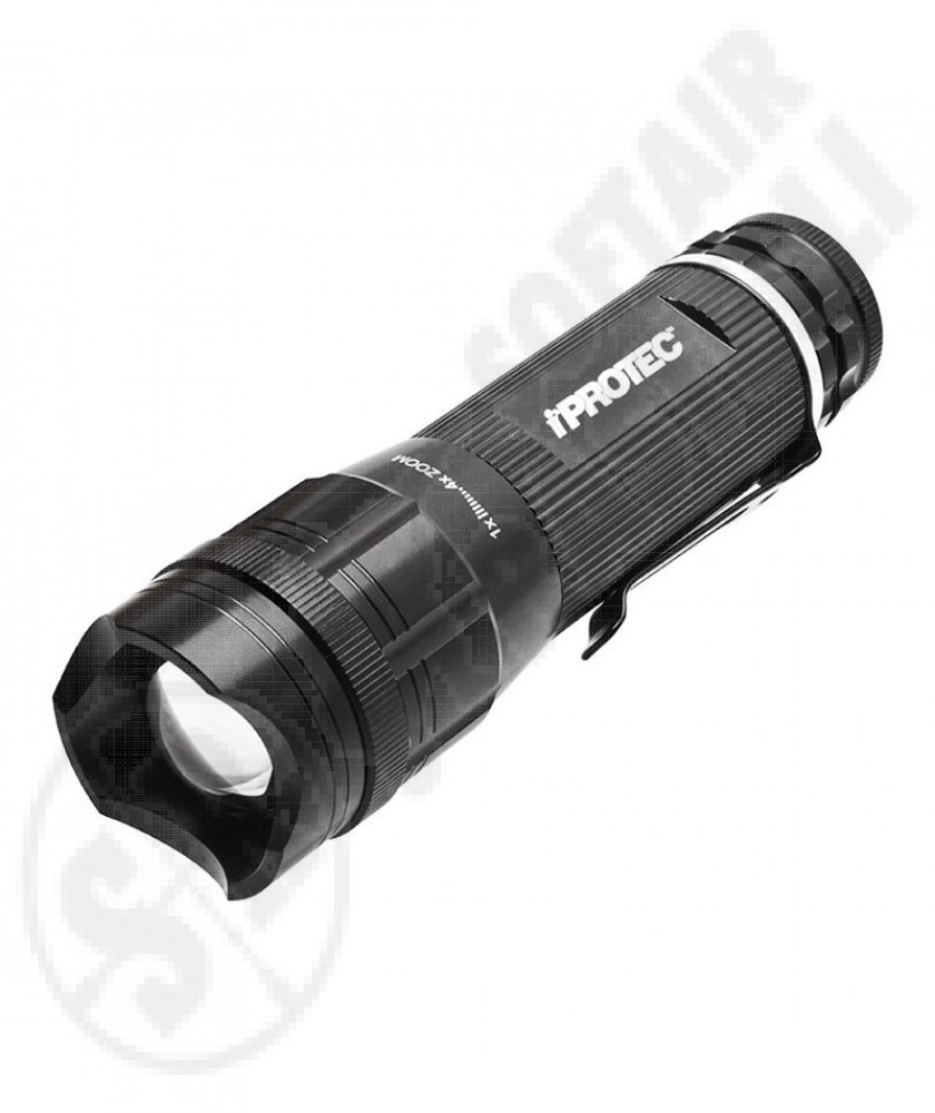 Tactical led torch iProtec 220 lumens