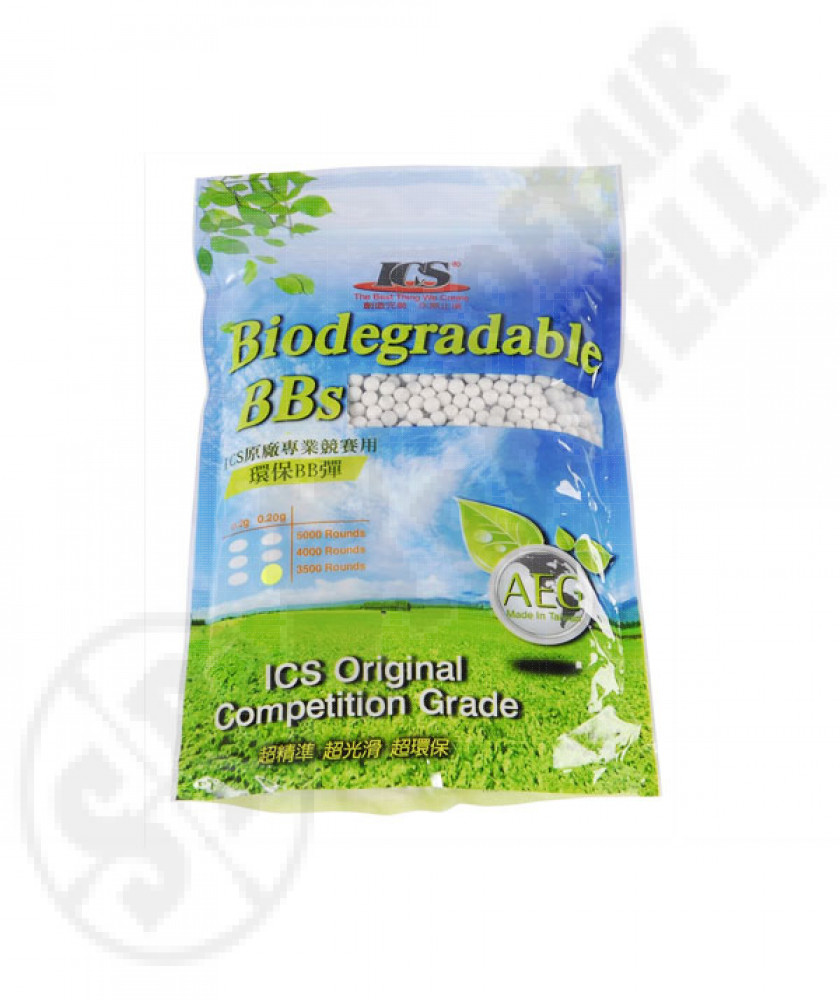 Ics biodegradable competition grade bbs 0.20g
